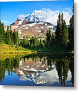 Spray Park Tarn Metal Print