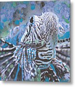 Spread Your Fins Metal Print