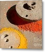 Spreading Colors In Life Metal Print