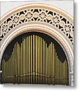 Spreckels Organ Balboa Park San Diego Metal Print