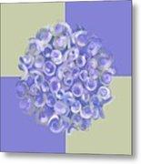 Spreeze Lilac Metal Print