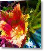 Spring Abstraction I Metal Print
