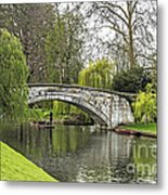 Spring And The River Cam Metal Print