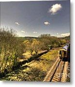 Spring At Seaton Junction  Metal Print by Rob Hawkins