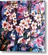 Spring Beauty Metal Print by Zaira Dzhaubaeva