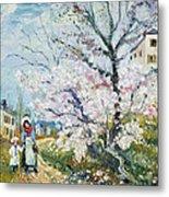 Spring Blossom Metal Print by Henri Richet