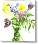 Spring Bouquet IIi Metal Print