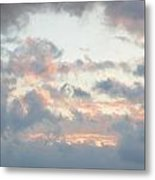 Spring Clouds Metal Print