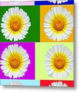 Spring Collage Metal Print
