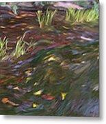Spring Creek In Oak Canyon Park Metal Print