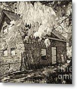 Spring Creek Mill Metal Print