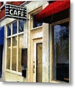 Spring Evening In Amherst Metal Print
