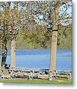 Spring Fed Shepherd Lake Metal Print