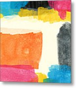 Spring Forward- Colorful Abstract Painting Metal Print