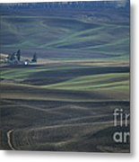 Spring In The Palouse Metal Print