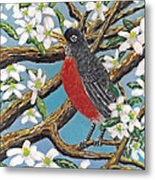Spring Is Coming  Metal Print