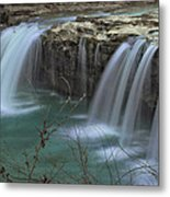 Spring King River Arkansas Metal Print by Cindy Rubin