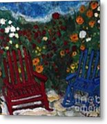 Spring Memories Metal Print by Louise Burkhardt