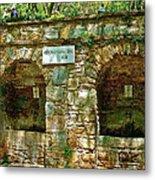 Spring Near Shrine To Mary-meryem Ana Evi-turkey Metal Print