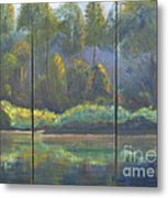 Spring On The Coosa  Metal Print
