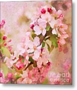 Spring Pink Metal Print
