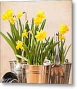 Spring Planting Metal Print