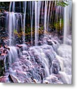 Spring Runoff At The Falls Metal Print