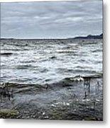 Spring Storm On Lake Champlain Metal Print