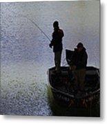 Spring Time Fishing Metal Print