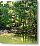 Springtime At Crystal Lake Metal Print