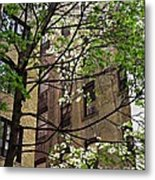 Springtime In Washington Heights 2 Metal Print