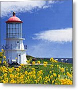 Springtime Lighthouse Metal Print