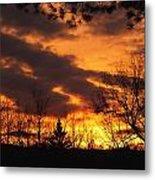 Springtime Sunset Metal Print