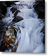 Springtime Waterfall Metal Print