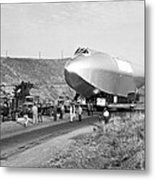 Spruce Goose Hull On The Move Metal Print