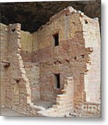 Spruce Tree House Structure Metal Print