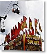 Spuds Metal Print by Skip Willits