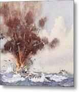 Squadron-commander A.w. Bigsworth Metal Print