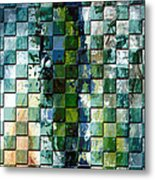 Square Mania - Abstract 01 Metal Print by Emerico Imre Toth