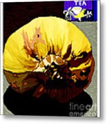 Squash  And  Tea Metal Print