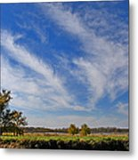 Squaw Creek Landscape Metal Print