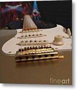 Squier Stratocastor Guitar - 3 Metal Print