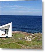 Squish Studio Tilting Fogo Island Newfoundland Metal Print