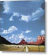 Highway 179 Metal Print