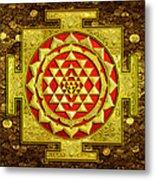 Sri Lakshmi Yantra Metal Print