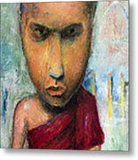 Sri Lankan Monk - 2012 Metal Print by Nalidsa Sukprasert