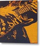 Srv  Number One Fender Stratocaster Metal Print