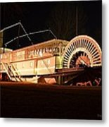 Ss Sicamous - Bow View Metal Print