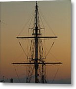 S S V  Corwith Cramer In Key West Metal Print