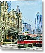 St Andrew Church In Toronto Metal Print